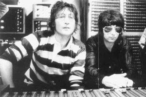 John Lennon + Phil Spector
